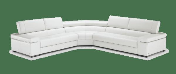 Canapé angle cuir Avana Natuzzi Livingstore