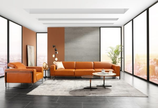 canapé cuir nicoletti living store